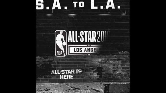 SA To LA - 2018 NBA All-Star Game