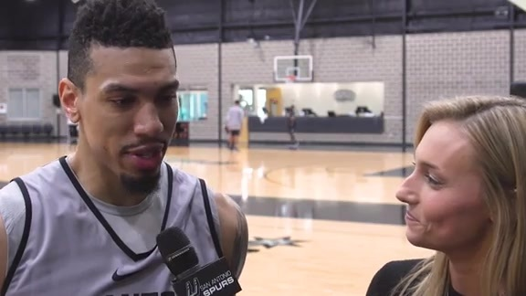 1-on-1 with Danny Green