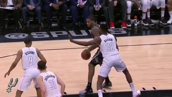 Highlights - Spurs vs Wizards 3/21