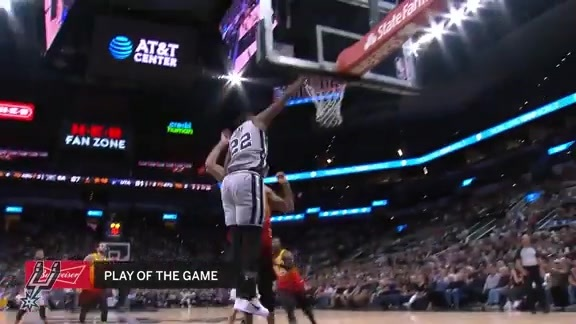 Highlights - Spurs vs Jazz 3/23