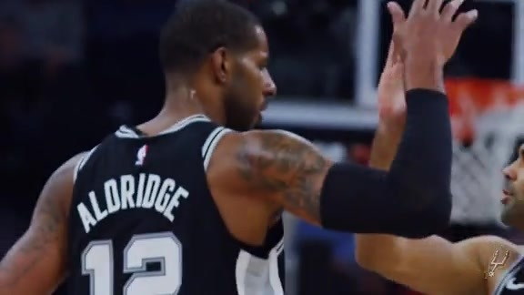 LaMarcus Aldridge Western Player of the Week