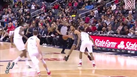 Highlights - Spurs at Wizards 3/27