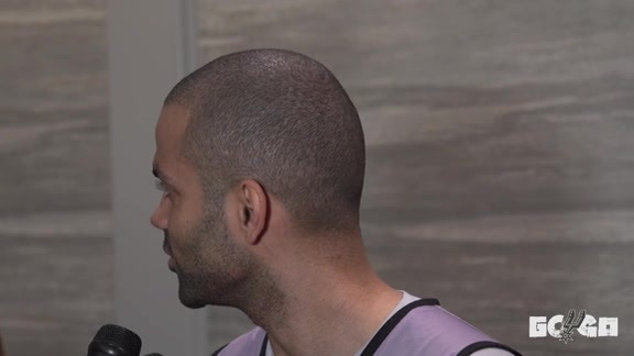 Tony Parker - Media Availability 4/15