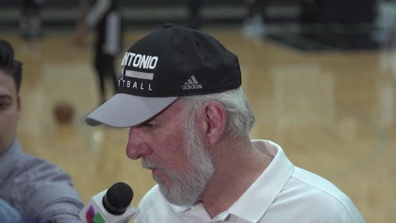 Gregg Popovich - Media Availability 4/18
