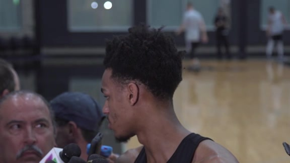 Dejounte Murray - Media Availability 4/18