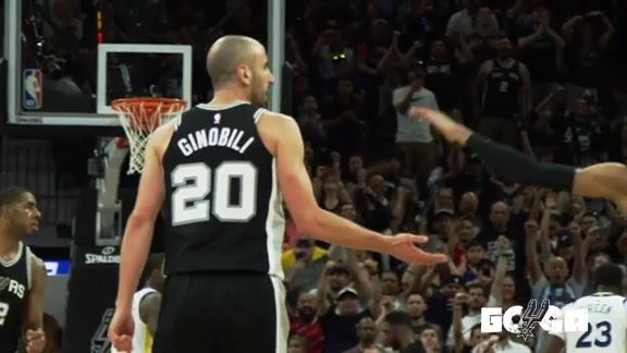 Feature: Manu Ginobili Game 4 vs Warriors
