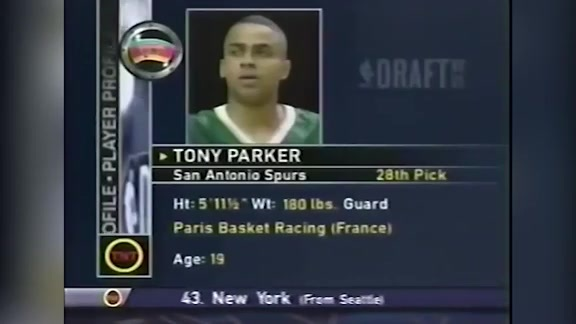 2001 Draft Lookback: Tony Parker