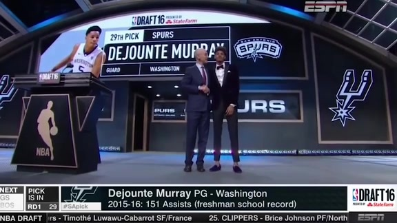 2016 NBA Draft Lookback: Dejounte Murray