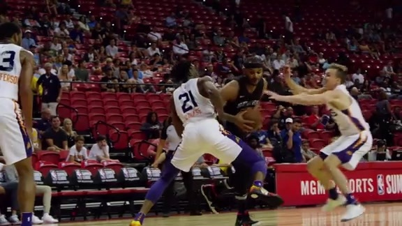 Highlights: Summer League Spurs vs Suns 7/13