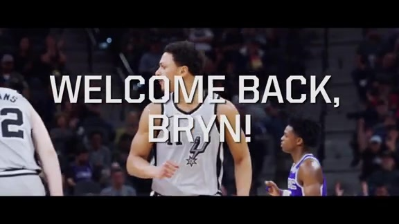 Welcome Back, Bryn!