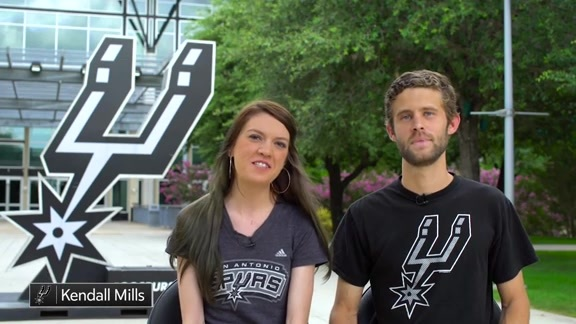 My Spurs Story: Kendall and Jerrod