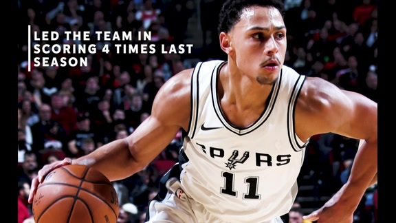 Spurs Snapshot: Bryn Forbes