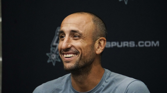 Manu Ginobili - Media Availability 9/15