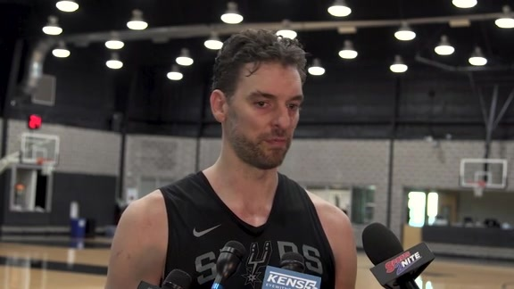Pau Gasol - Training Camp 9/25