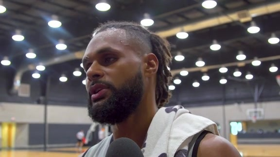 Patty Mills - Training Camp 10/6