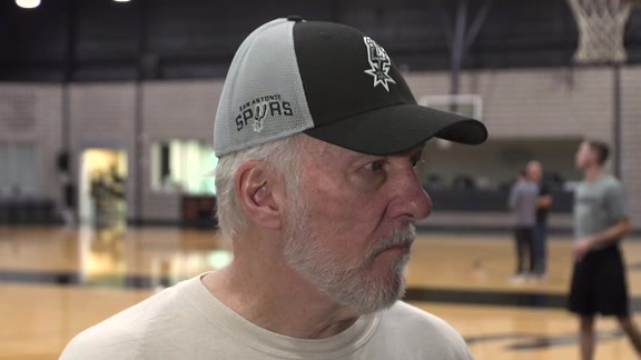 Gregg Popovich - Training Camp 10/8