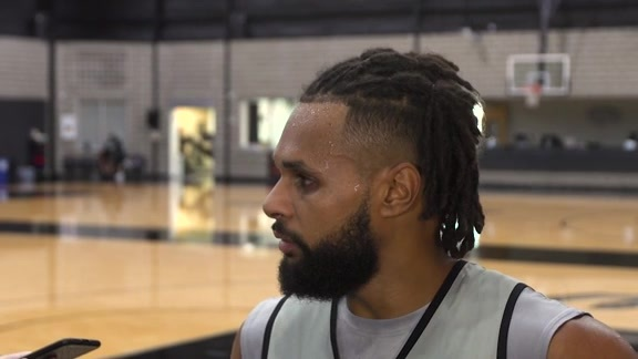 Patty Mills - Training Camp 10/8