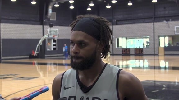 Patty Mills - Training Camp 10/14