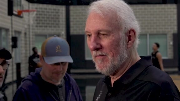 Gregg Popovich - Training Camp 10/16