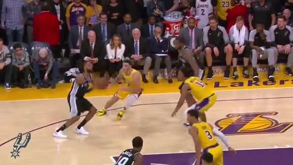 Highlights: Spurs vs. Lakers 10/22