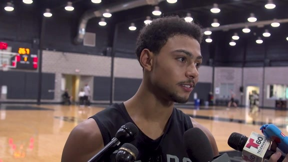 Bryn Forbes - Practice 11/8