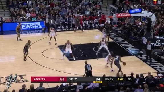 Highlights: Spurs vs. Rockets 11/10