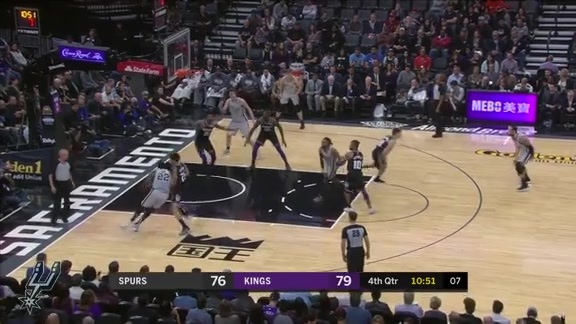 Highlights: Spurs vs. Kings 11/12
