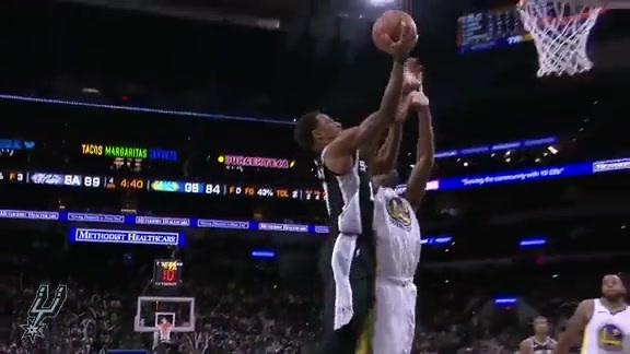 Highlights: Spurs vs. Warriors 11/18