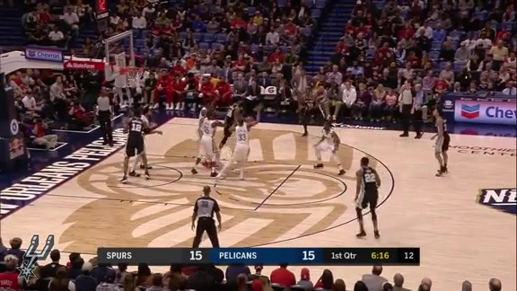 Highlights: Spurs vs. Pelicans 11/19