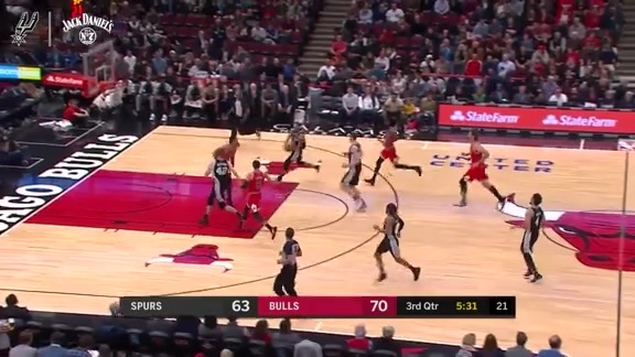 Well-Crafted Play of the Game: Fast Break vs. Chicago 11/26