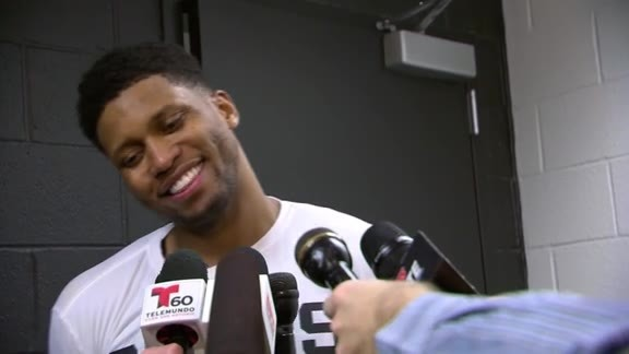 Rudy Gay - Postgame 12/9