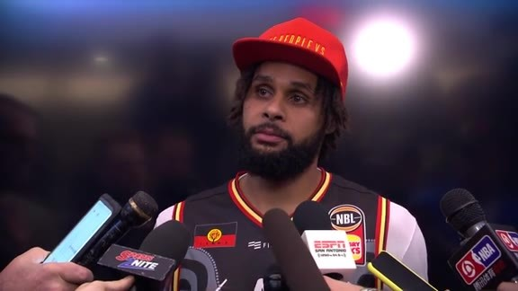 Patty Mills - Postgame 12/13