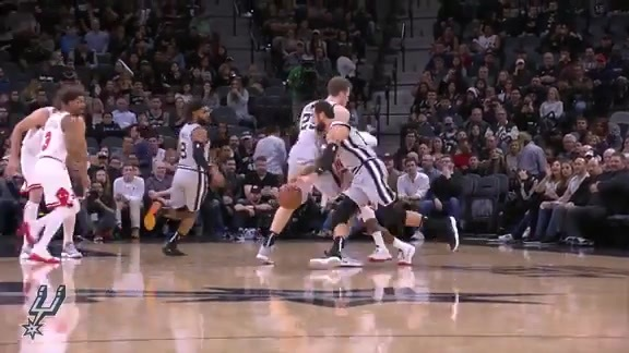 Highlights: Spurs vs. Bulls 12/15