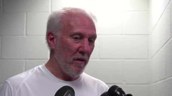 Gregg Popovich on Tony Parker's Return