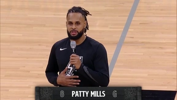 Patty Mills' MLK Address 1/20
