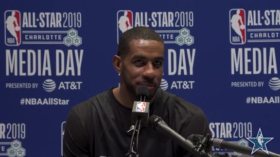 LaMarcus Aldridge - All Star Media Availability  2/16/2019