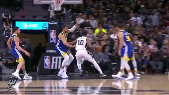 Highlights: Spurs vs. Warriors 3/16