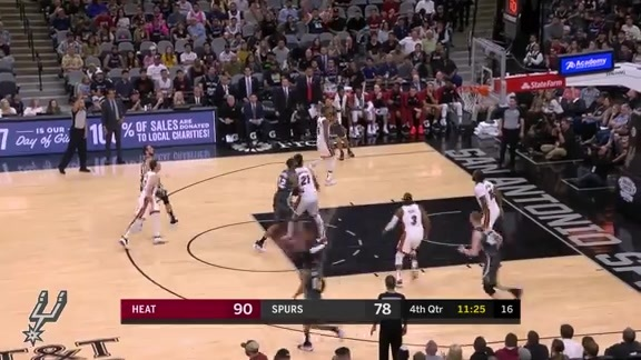 Highlights: Spurs vs. Heat 3/20