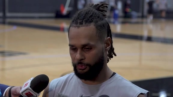 Patty Mills - Shootaround 3/28