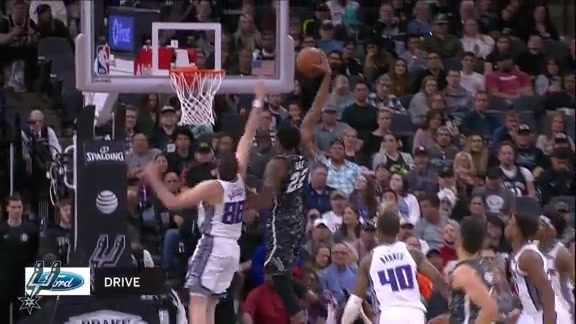 Highlights: Spurs vs. Kings 3/31