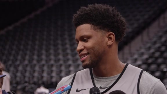 Rudy Gay - Shootaround 4/27