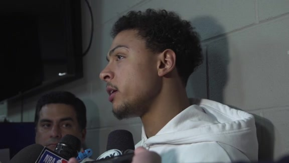 Bryn Forbes - Postgame 4/27