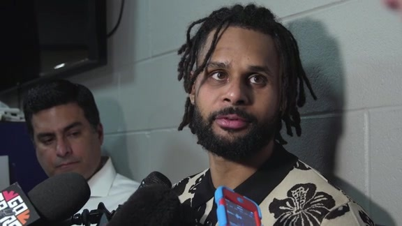Patty Mills - Postgame 4/27