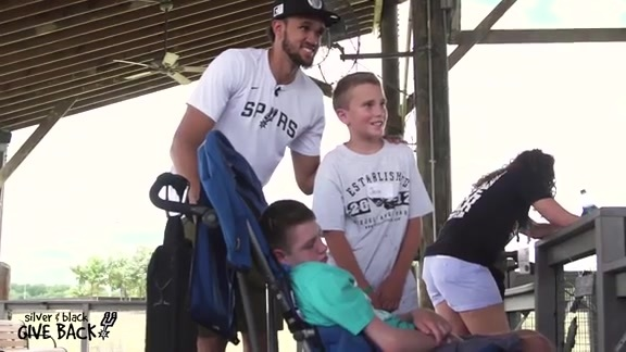 Derrick White's Visit to Morgan's Wonderland