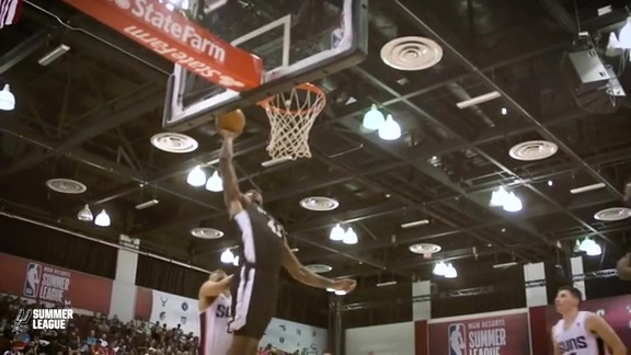 Las Vegas Summer League - Spurs vs. Suns Recap 7/10