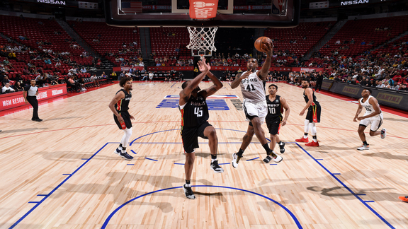Las Vegas Summer League - Spurs vs. Hawks Recap