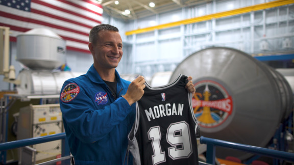 Spurs Jersey Heads to Space 50 Years After Apollo 11 Mission