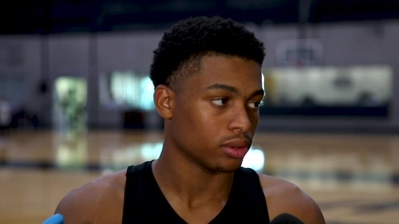 Keldon Johnson - Training Camp 10/3/19