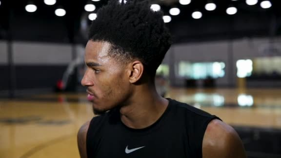 Dejounte Murray - Training Camp 10/14/19