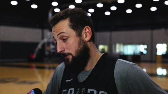 Marco Belinelli  - Training Camp 10/14/19